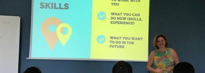 """Rachel Kornak: """"How to get a job in GIS: Tips for Students"""""""